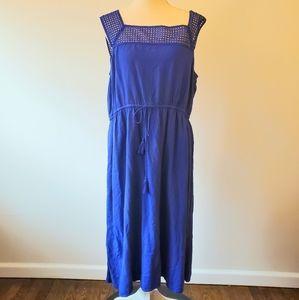 Old navy blue maxi dress size XL